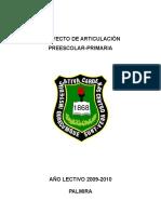 PROYECTO ARTICULACION PREESCOLAR-PRIMARIA.doc