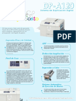 Duplo DP-A120 Duplicator Brochure SP 05.11