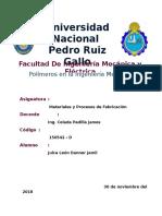Los polímeros en ingeniería  mecánica