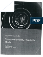 City of Savannah Draft Stormwater Utility Feasibility Study