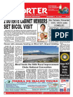 Bikol Reporter December 9 - 15, 2018 Issue