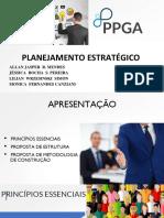 Apresentação Plan Estratégico No PDI (Metodologia - Ppga 2018)