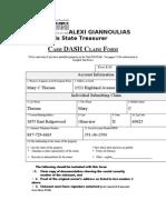 IL Treasurer's Cash Dash Form