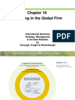 Ch18 Marketing In The Global Firm
