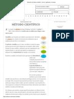 Definición de Método Científico - Qué Es, Significado y Concepto