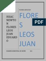 Flores Leos Juan Eduardo 104 Semestral