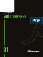 ROTHOBLAAS - Air-tightness-smartbook