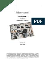 Artist a Net Manual V1.2 30.06