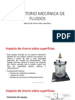LABORATORIO - Impacto de Chorro Sobre Superficies