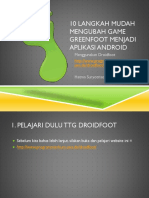 Greenfoot Apk Dengan Droidfoot