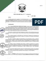 Resolucion Directoral Nº 357 2018 Ana Oa
