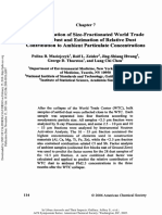 Characterization of Size - Fractionated World Trade Center Dust and Estimation of Relative Dust Contribution to Ambient Particulate Concentrations