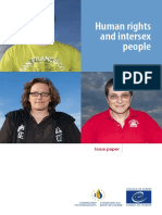 Commissioner Human Righst COE - Human Rights and Intersex People