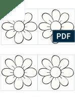 7. Dibujo Flores