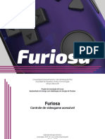 TCC Design de Produto - Controle acessível Furiosa