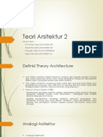 Teori Arsitektur 2