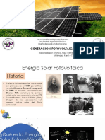 8- Generación Fotovoltaica