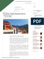 Program Sejuta Rumah Jokowi _Tercoreng_ - Posmetro Padang