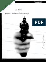 Libertella (Comp) - Literal 1973-1977