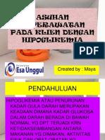 11b. Askep Klien Dengan Hipoglikemia