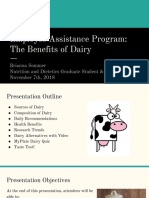 employee assistance program  the benefits of dairy