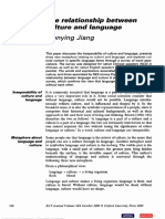 The realtionship between culture and language.pdf
