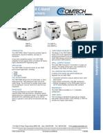 Comtech Ef Data Csat5060 100W C-Band Transceiver