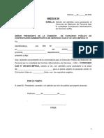 ANEXO 04. CONVOCATORIA DE CONTRATACION ADMINISTRATIVA DE SERVICIOS CAS