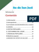 Distrito de San José Gogo ....