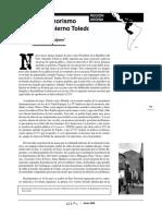 El Fujimorismo Del Gobierno Toledo. OSAL Nº 7,  Anibal Quijano.