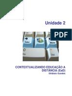 Capitulo 2 - CONTEXTUALIZANDO EDUCAÇÃO A DISTÂNCIA (EaD) - Gildásio Guedes