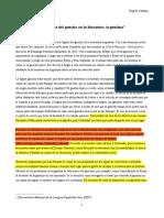 La Figura Del Gaucho en La Literatura Argentina (Sigrid) - Copia