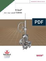 Master Valve WM - POW-R-SEAL Gate Valve Brochure