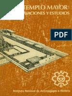 Templo Mayor, Excavaciones y Estudios