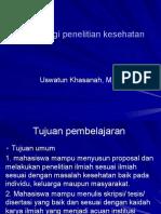 Materi Ajar Penelitian 2017.Pptx