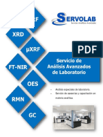 Catalogo Servicios Analiticos Servolab Overseas Inc 2017.c