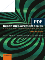 David L. Streiner, Geoffrey R. Norman, John Cairney-Health Measurement Scales_ a Practical Guide to Their Development and Use-Oxford University Press (2015)