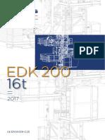 Technical Datasheet EDK 200