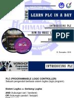 Workshop Plc 1