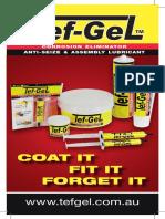 Tef-Gel DL Brochure