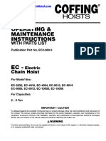 Coffing EC3 Manual