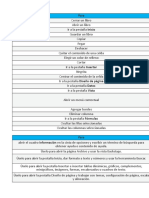 Metodos Abreviados de Teclado en Excel