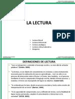 La Lectura y Escritos Académicos