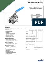 Profin VT3 - C110.1!1!30 - Folleto de La Serie