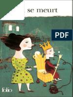 Ionesco-Le Roi Se Meurt