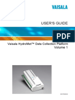 Hydromet Data Collection Platform Users Guide Vol 1 M210784EN-E