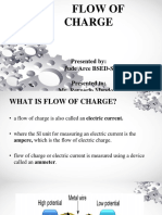 Report 1..Flow of Charge