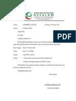 Undangan Komite Medik