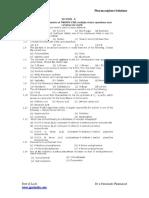 GPAT 2012 Paper Solved 1