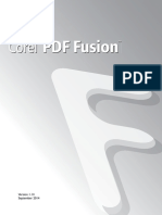Corel PDF Fusion User Guide